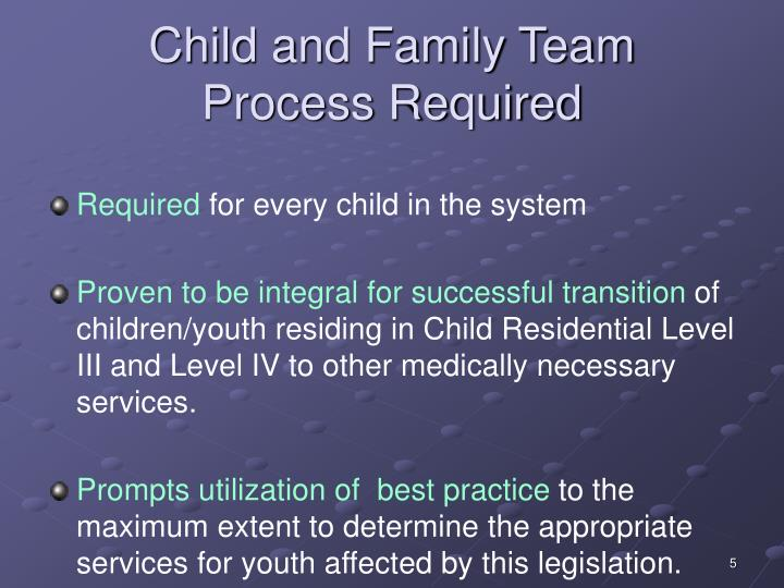 Child and Family Team