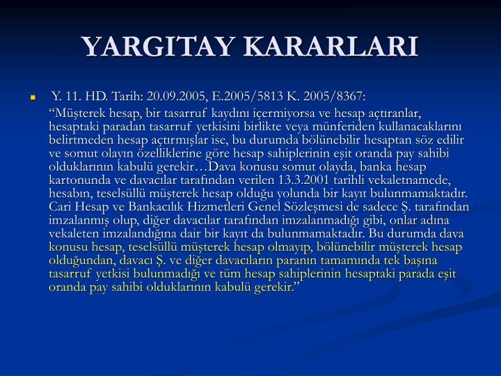 YARGITAY KARARLARI