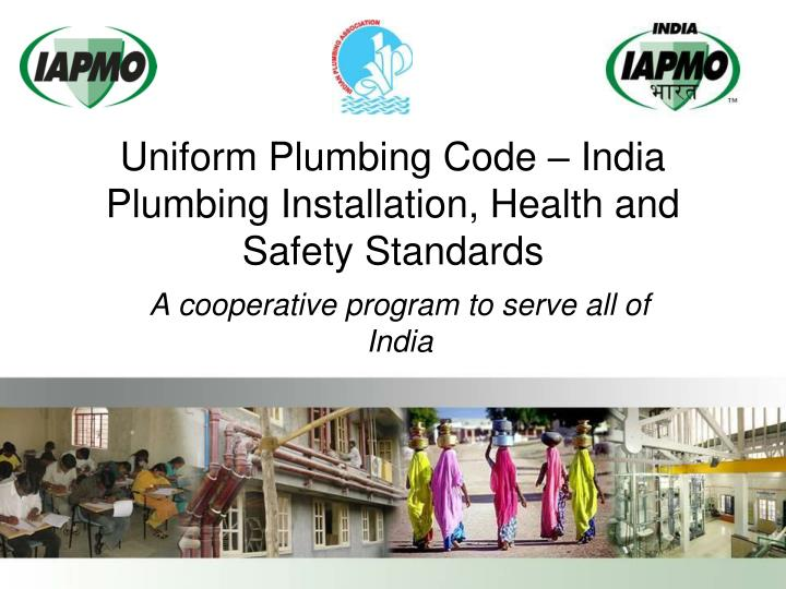 Uniform plumbing code india plumbing installation health and safety standards