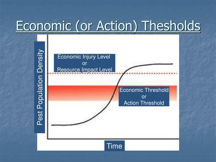 Economic (or Action) Thesholds