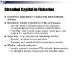 stranded capital in fisheries1