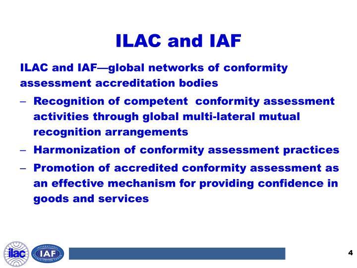 ILAC and IAF