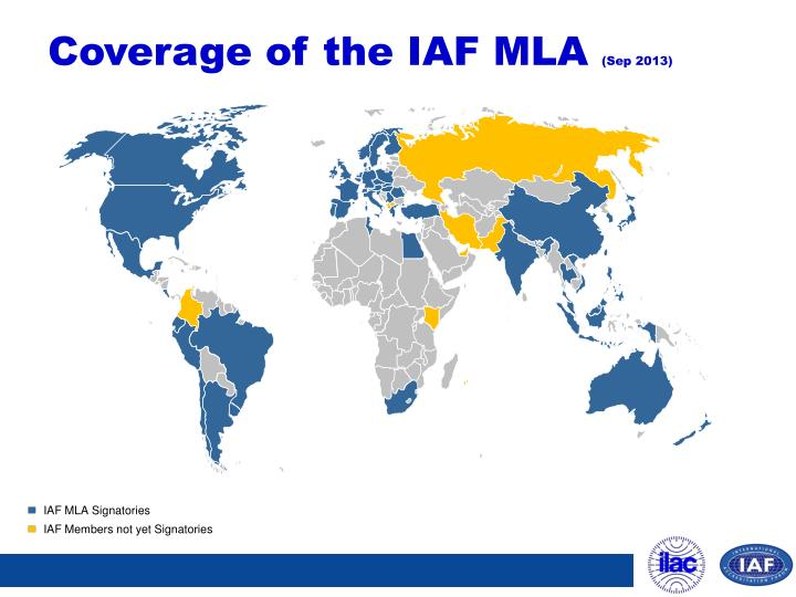 Coverage of the IAF MLA