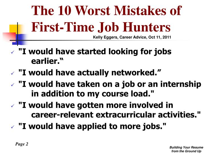 The 10 Worst Mistakes of