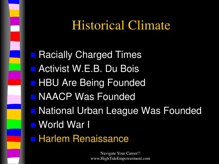 Historical Climate
