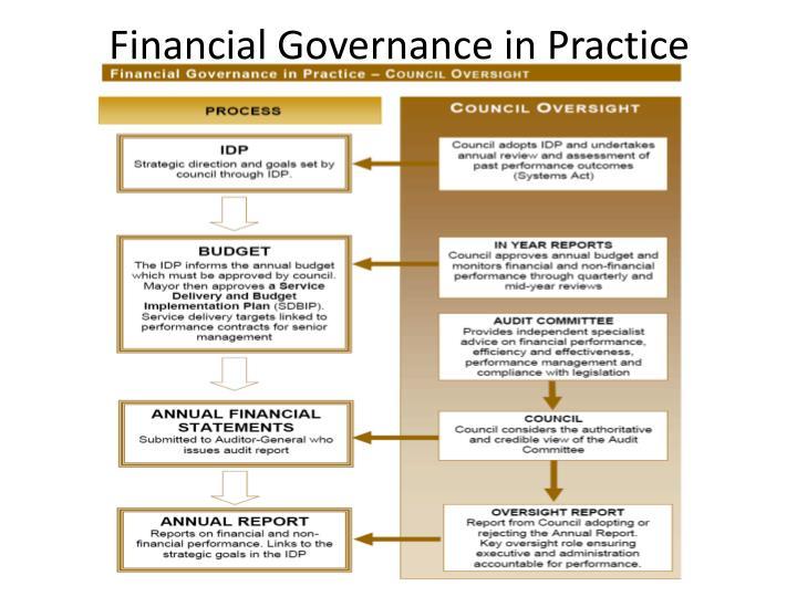 Financial Governance in Practice