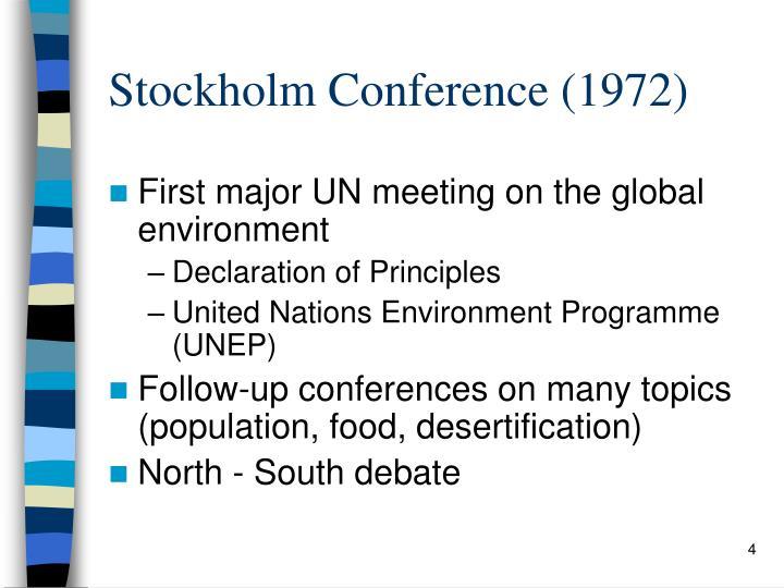 Stockholm Conference (1972)