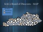 kaco board of directors map