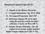 electrical control unit ecu