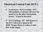 electrical control unit ecu1