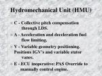 hydromechanical unit hmu3