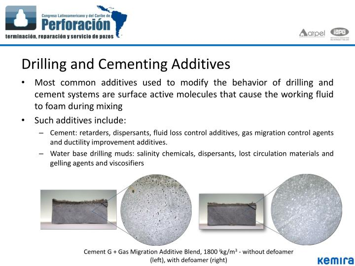 Drilling and Cementing Additives