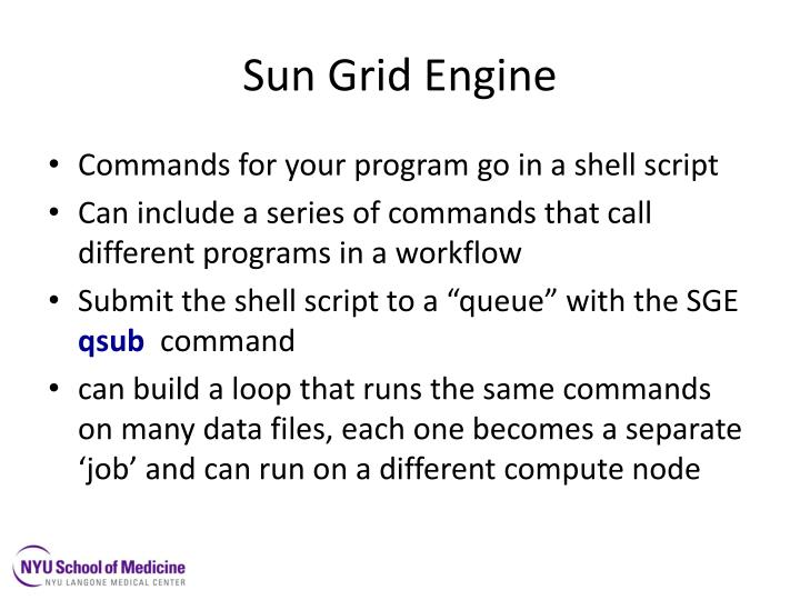 Sun Grid Engine