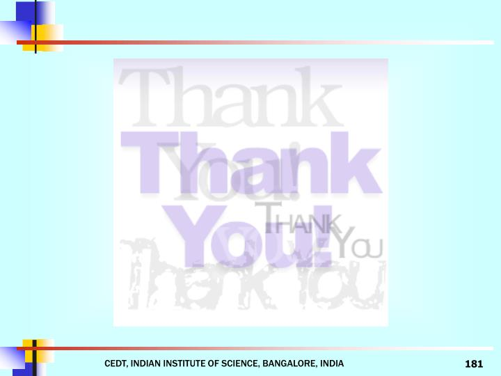 CEDT, INDIAN INSTITUTE OF SCIENCE, BANGALORE, INDIA