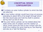 conceptual design configuration