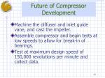 future of compressor development
