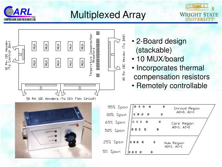 Multiplexed Array
