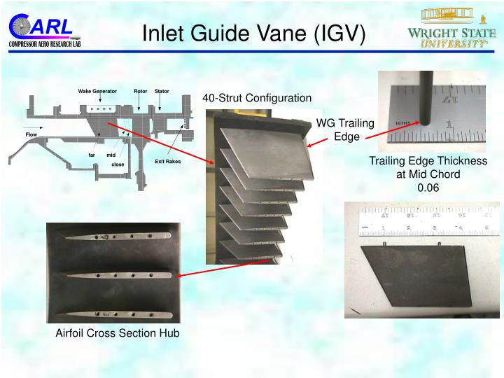 Inlet Guide Vane (IGV)
