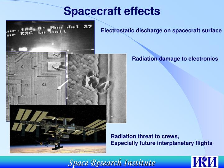 Radiation damage to electronics