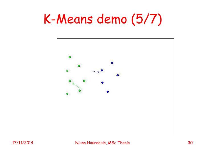 K-Means demo (5/7)