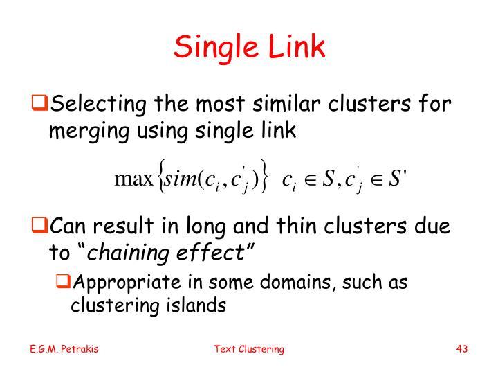 Single Link