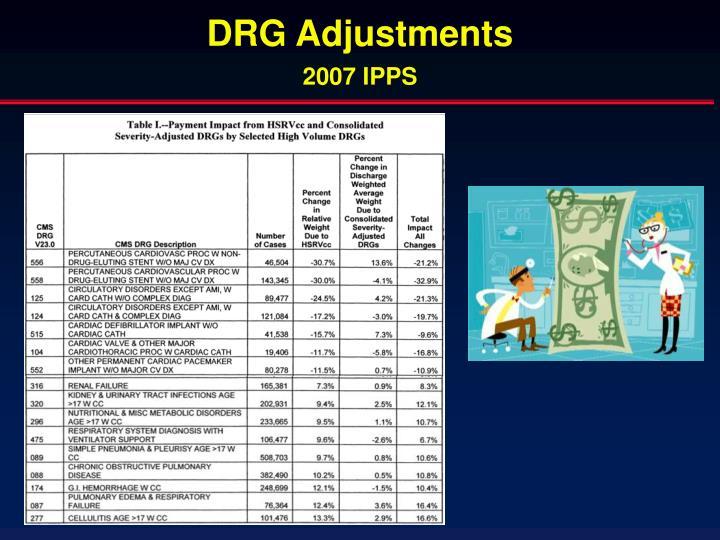 DRG Adjustments