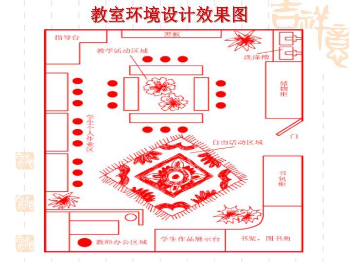 教室环境设计效果图