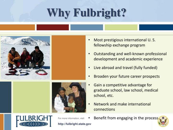 Why Fulbright?