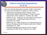 federal and dod regulations 2 of 2