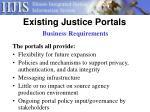 existing justice portals4