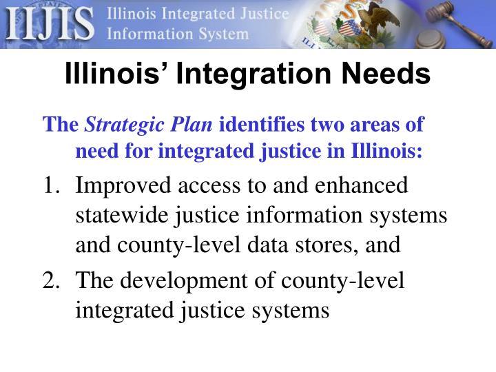 Illinois' Integration Needs