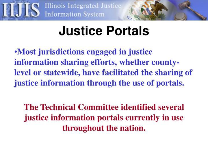 Justice Portals