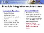 principle integration architectures