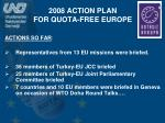 2008 action plan for quota free europe1