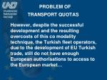 problem of transport quotas2