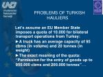 problems of turkish hauliers1