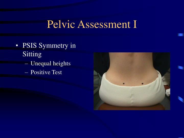 Pelvic Assessment I
