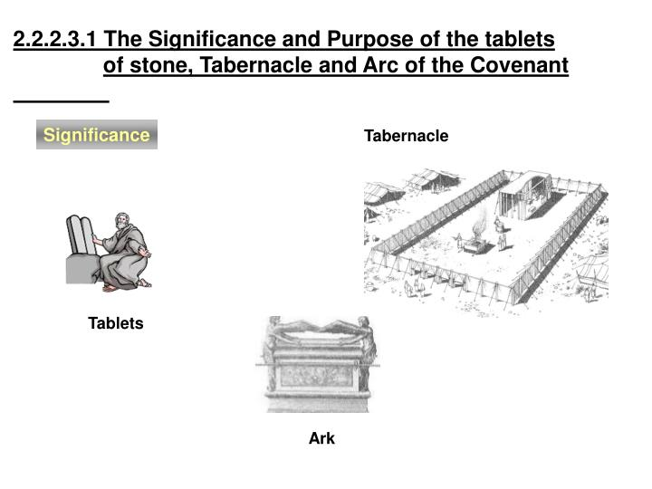 2.2.2.3.1 The Significance and Purpose of the tablets
