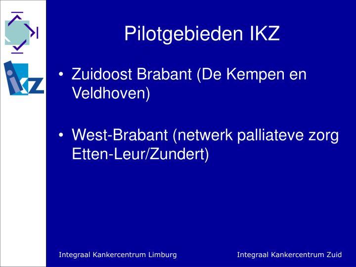 Pilotgebieden IKZ