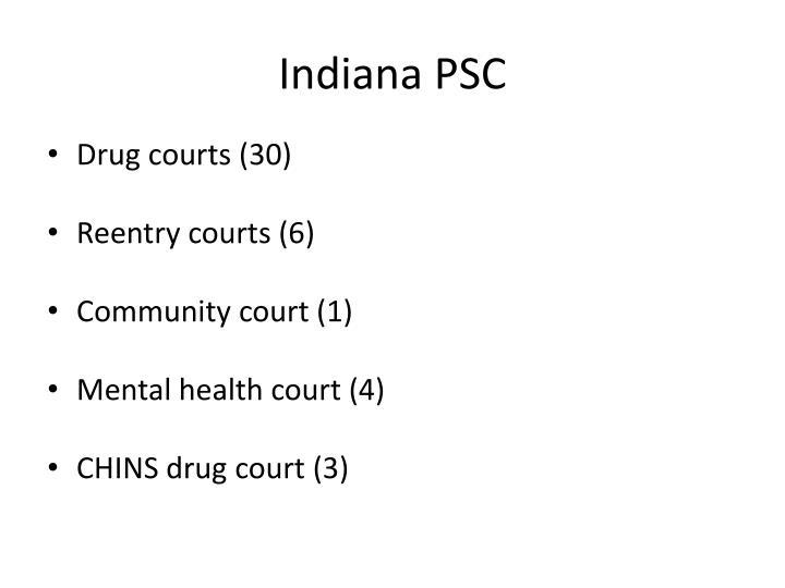 Indiana PSC