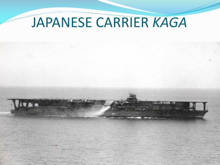 JAPANESE CARRIER