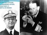 rear admiral frank jack fletcher commanding officer task force 17 battle of midway