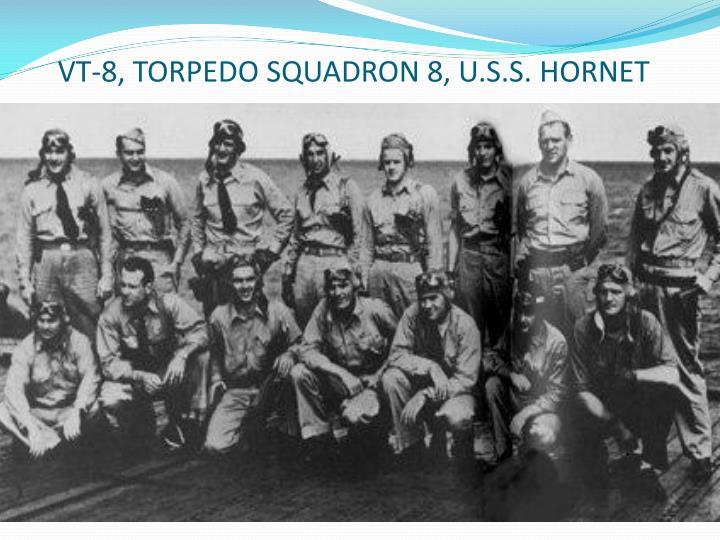 VT-8, TORPEDO SQUADRON 8, U.S.S. HORNET