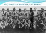 vt 8 torpedo squadron 8 u s s hornet