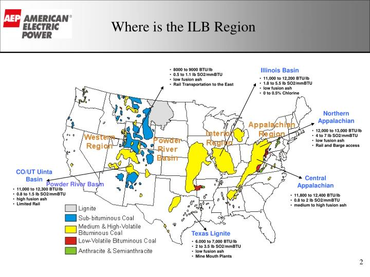 Where is the ilb region