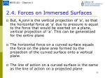 2 4 forces on immersed surfaces10