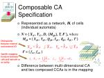 composable ca specification