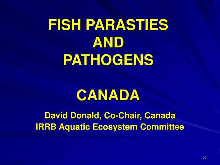 FISH PARASTIES