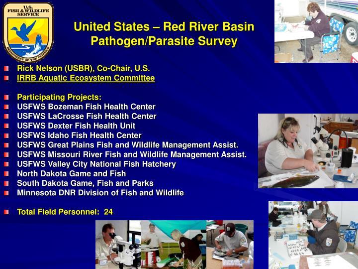 United States – Red River Basin Pathogen/Parasite Survey