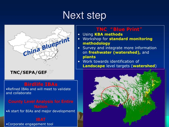 China Blueprint